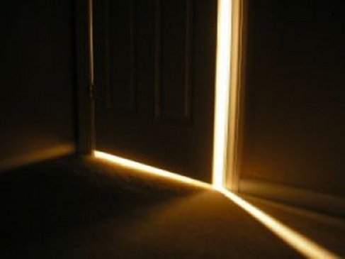 The Light on the other side of the Door....